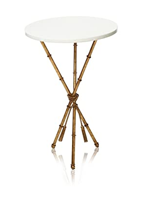 Safavieh Ross Accent Table (White/Gold)