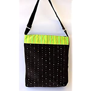 Karaashilp Neon Ethnic Library Tote