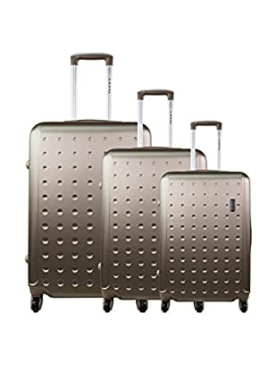 zifel Set de 3 trolleys rígidos A028