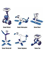 6 IN 1 EDUCATIONAL SOLAR ROBOT ENERGY KIT SCIENCE SCHOOL PROJECTS FOR KIDS