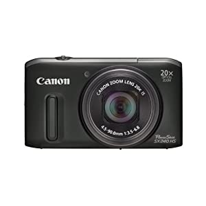 Canon Powershot SX240 HS Digital Camera - Black (12.1 MP, 20x Optical Zoom) 3.2 Inch LCD