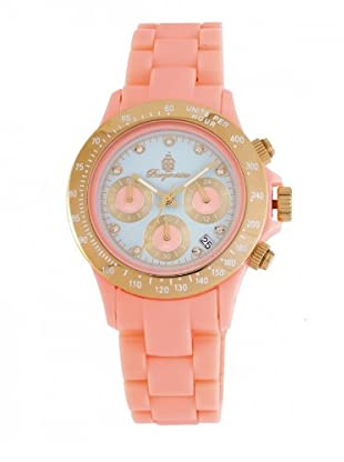 Burgmeister Damen-Uhren Chronograph Polycarbonat Florida BM514-034