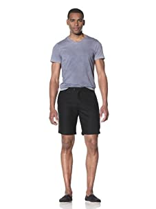 JUMA Men's Tailored Shorts (Black)