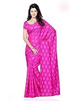 Shariyar Purple Jacquard Printed Saree PRG362
