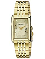 Citizen Analog Gold Dial Men's Watch - BH1672-52P