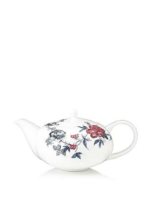 Elinno Rose Garden Teapot, White/Multi