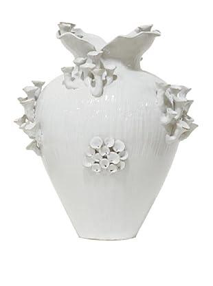 White Moon Mushroom Vase