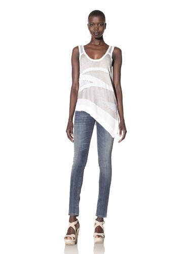 Kimberly Ovitz Women's Arlen Sweater Tank (White/Dune)