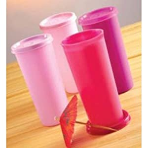 Tupperware Rainbow Tumblers (set of 4) 340 ml