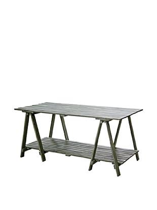 Winward Greenhouse Table, Brown