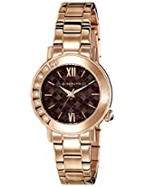 Giordano Analog Brown Dial Women's Watch - 2753-44