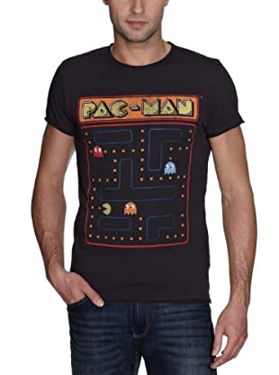 JACK & JONES Camiseta Space slim fit (Gris)