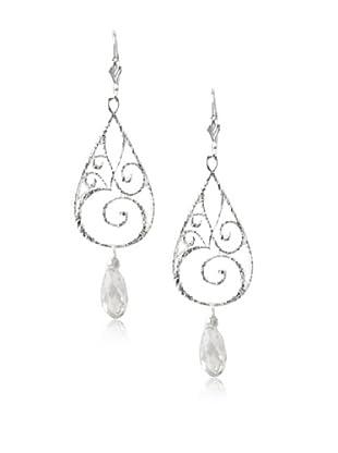 Sophia & Chloe Om Swarovski Crystal Earrings