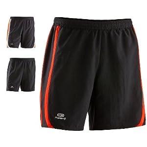 Kalenji FEEL BAGGY SHORTS Sizes XL Color Black/Bright Orange