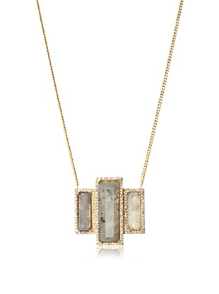 Melanie Auld Labradorite Deco Necklace