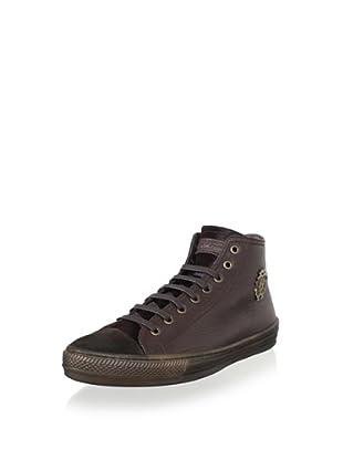 Roberto Cavalli Men's Sneaker (Brown)