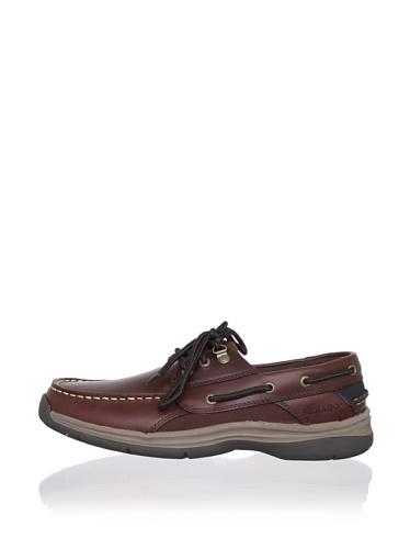 Sebago Men's Helmsman Boat Shoe (Brown)