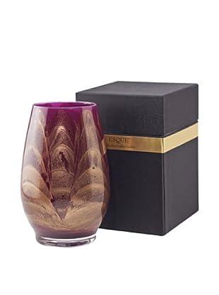 Northern Lights Candles Esque Candle & Floral Vase, Amethyst