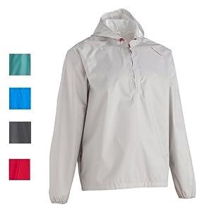 Quechua Raincoat - Pearl White