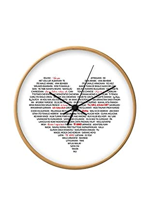 Tomasucci Reloj De Pared I Love You