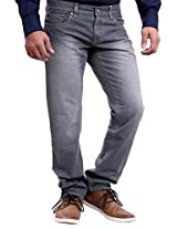 La MODE Dark Grey Jeans(LA00488_D-09_38)