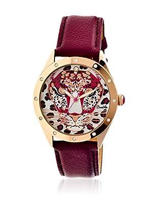 Bertha Uhr mit Japanischem Quarzuhrwerk Alexandra rot 41 mm