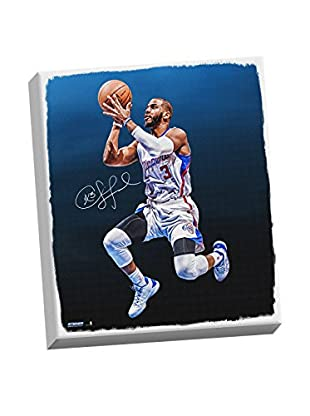 Steiner Sports Memorabilia Chris Paul Signed Floating Lay-Up Canvas, Multi, 26