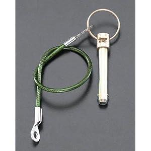 【クリックで詳細表示】エスコ 10x100mmボールロックピン EA949RG-125: 産業・研究開発用品