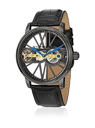 Stührling Mechanische Uhr Winchester Bridge schwarz 46 mm