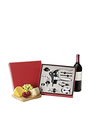 Wolfgang Puck 10-Piece Sommelier Wine Set (Red)