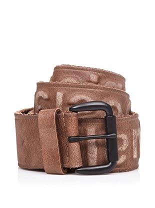 Desigual Cinturón Embossed (Marrón)