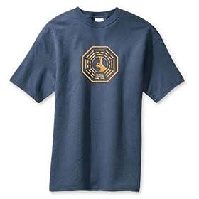 Lost Dharma Looking Glass T-Shirt 海外ドラマTシャツ Small/ロスト ダーマ ルッキング・グラス Tee Sサイズ ABC TV store