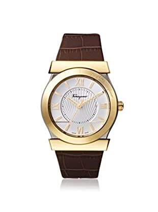 Salvatore Ferragamo Men's FI0960014 Vega Brown/Silver Leather Watch