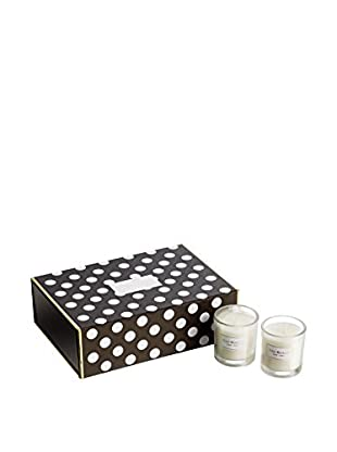 Isaac Mizrahi 6-Piece Tux Evergreen Scented Votive Set