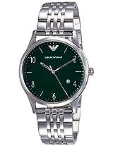 Emporio Armani Beta Analog Green Dial Men's Watch - AR1943