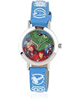 Aw100023 Blue/Multi Analog Watch