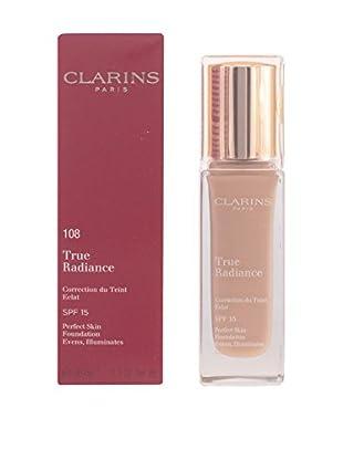 CLARINS Base De Maquillaje Líquido True Radiance N°108 Sand 15 SPF 30.0 ml