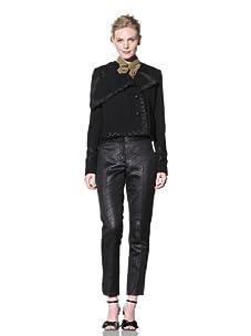 Bensoni Women's Band Jacket (Black)