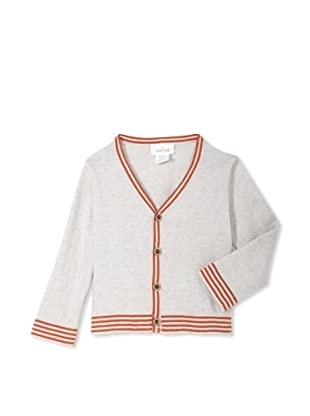 Neige Baby Rory Cardigan (Oatmeal/Rust)
