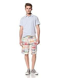 Tailor Vintage Men's Reversible Short (St. John Patchwork/Solid Khaki)