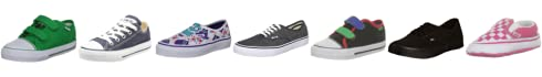 Vans Kids Big School Canvas Trainer