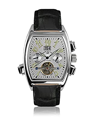 André Belfort Automatikuhr Royale Date Weiß schwarz 38  mm