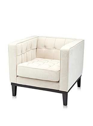 Armen Living Roxbury Tufted Arm Chair