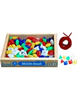 Little Genius Beads, Multi Color (Small - 100 Pieces)