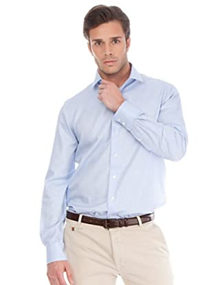Arrow Camisa Cluet Slim (Azul)