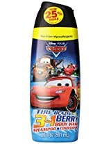 Disney Cars 3 In 1 Body Wash, 20 Ounce