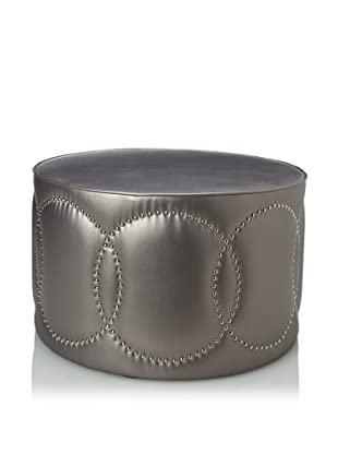 Shine by S.H.O Oslo Ottoman (Pewter)