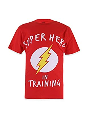 DC Comics T-Shirt Manica Corta Flash Training