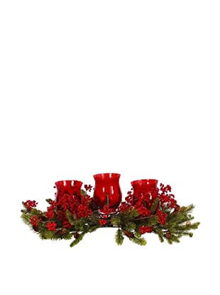 Angel Berry Candle Holder