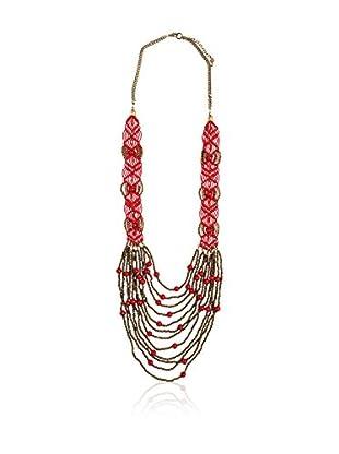 Alibey Halskette  rot